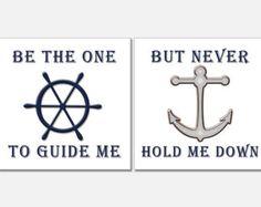 nautical sayings | ... Nautical Art, Anchor Print, Helm Print, Nautical Decor, Nautical Quote