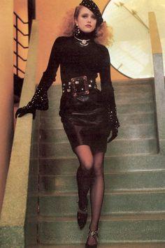 YSL 1985 Photographer: Helmut Newton Model: Maria von Hartz