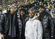 Anthony, D-Wade, Paul & Lebron