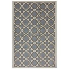 Mohawk Home Terra Tiles Dusty Aqua 6 ft. 6 in. x 10 ft. Area Rug-422516 at The Home Depot