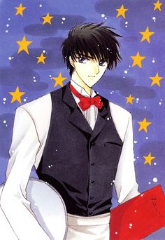 CardCaptor Sakura ~~ A man of many jobs all for the sake of keeping an eye on his sister, apparently. :: Kinomoto Touya