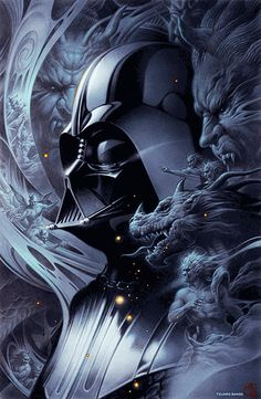 DARTH VADER FROM STAR WARS  By Tsuneo Sanda