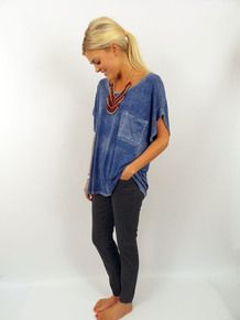 Grey Skinny Jeans and T-Shirt