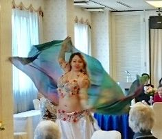 Fairy Belly dance in Japan with Patricia Frassi