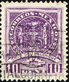 MEXICO - CIRCA 1935: A Stamp Printed In Mexico Shows Palenque.. Royalty Free Stock Photo, Pictures, Images And Stock Photography. Image 8682046.