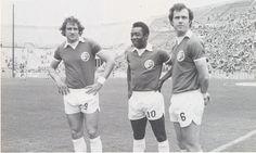 Giorgio Chinaglia, Pele, Franz Beckenbauer