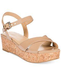 Easy Spirit Joyz Platform Wedge Sandals - Comfort - Shoes - Macy's