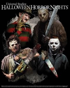 Freddy, Jason, and Leatherface are Coming to Halloween Horror Nights at Universal Studios… #HalloweenHorrorNights2016 #UniversalStudios