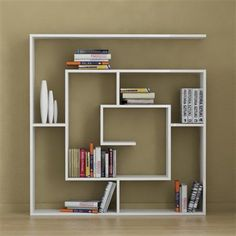 Decortie Labirent Book Shelf, Various Colours Available