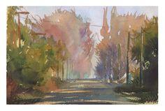 Watercolor by Roni Kane