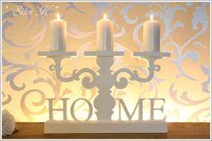 erhältlich hier: http://de.dawanda.com/shop/anavlis , Kerzenleuchter, Holz, Handarbeit, Home, Decoration, Dekoration, DaWanda, Silvi K. ,