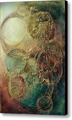 Moon Thread by Michael Lang - Moon Thread Painting - Moon Thread Fine Art Prints and Posters for SaleMoon Thread Canvas Print by Michael Lang. All canvas prints are professionally printed, assembled, and shipped within 3 - 4 business days and delivered re Art Texture, Texture Painting, Art Sur Toile, Glue Art, Canvas Art, Canvas Prints, Thread Painting, Arte Popular, Oeuvre D'art