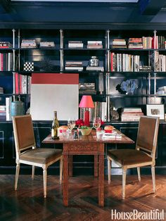Classic Library Design Ideas  - HouseBeautiful.com