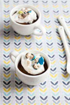 Malted Chocolate Pots de Creme