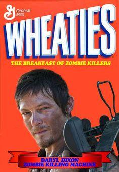 Breakfast of zombie killers