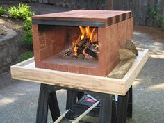 Four à pizza bois : Build a dry stack wood-fired pizza oven comfortably in one day! Dry Stack Wood Fired Pizza Oven Samples Sharing is caring, don't Portable Pizza Oven, Pizza Oven Outdoor, Outdoor Cooking, Outdoor Kitchens, Backyard Projects, Outdoor Projects, Diy Projects, Four A Pizza, Patio Fire Pits
