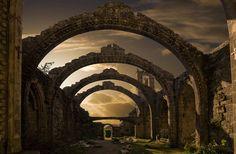 Pontevedra, Spain // Ruinas de Santa Marina