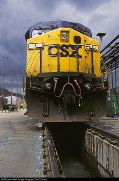 RailPictures.Net Photo: CSXT 1 CSX Transportation (CSXT) GE AC4400CW at Erwin, Tennessee by Ron Flanary