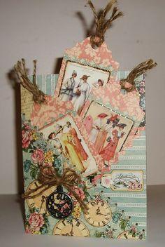 Card by Cissy Prestage  (032114)  designer's site:  http://cissyscreationsoflove.blogspot.com  G45  A Ladies' Diary