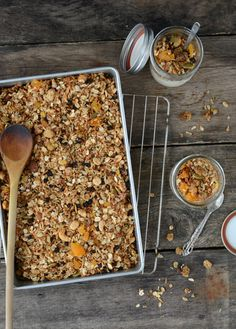 Can never have enough granola! http://butterflyfoodie.blogspot.com/
