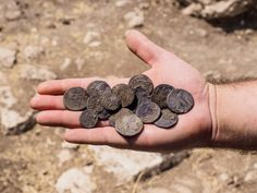 Jerusalem - 2,100 Year Old Coins, Bearing Names Of Maccabean Kings, Found In…