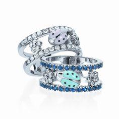 Aaron Basha diamond ladybug ring--- want Ladybug Garden, Ladybug Art, Ladybug Decor, I Love Jewelry, Jewelry Making, Ladybug Jewelry, Lady Bug Tattoo, Things To Buy, Making Ideas