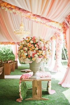 [Click on the photo to book your wedding photographer]  Indian Wedding Stage & Sangeet Decor Ideas Wedding decor, Indian wedding design, sangeet decor, mandap design  Curated By Best Indian Candid & Destination Wedding Photography: Magica