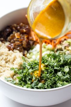gluten-free and vegan moroccan quinoa salad