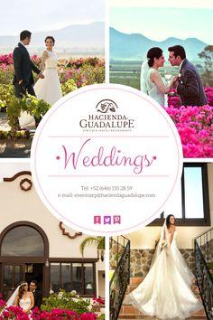 Hacienda Guadalupe •Weddings• #HaciendaGuadalupe lo hace Especial.