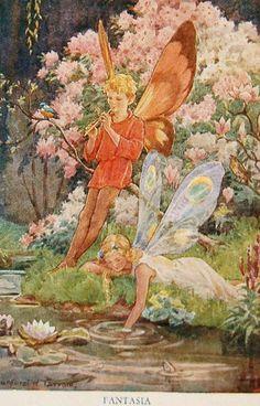 """Fantasia"" by Margaret W. Tarrant"