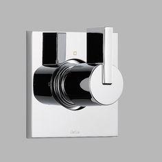 Vero Diverter Faucet Trim with Lever Handles