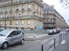 Paris, Métropolitain, Entrée de la station Europe, arch. Hector Guimard