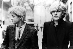 Mick Karn and David Sylvian, 1980