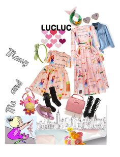 """LucLuc 19/2 - Happy Mother's Day!!!"" by ade1-ccvii ❤ liked on Polyvore featuring Dolce&Gabbana, Moschino, Wildfox, Xhilaration, women's clothing, women's fashion, women, female, woman and misses"