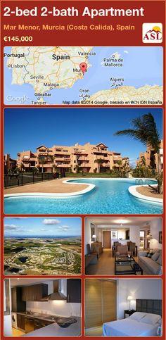 2-bed 2-bath Apartment in Mar Menor, Murcia (Costa Calida), Spain ►€145,000 #PropertyForSaleInSpain