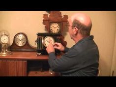 How do I set up my antique mantel clock: Clock repair tips | Antique Clock Parts Grandfather Cuckoo Mantle and Wall
