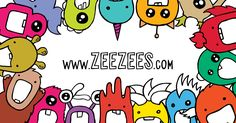Meet the Zee Zees at ZeeZees.com!