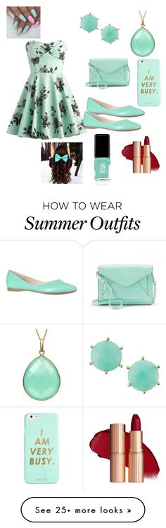 Summer Outfits : Another teal outfit by vballgirl03 on Polyvore featuring Apt. 9 ban.do Panac
