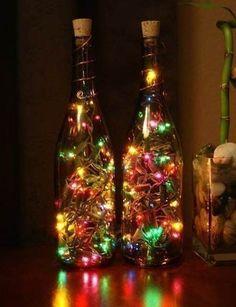 Creative Ideas - DIY Stunning Wine Bottle Light | iCreativeIdeas.com Follow Us on Facebook --> https://www.facebook.com/iCreativeIdeas