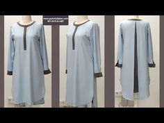 YouTube Diy Summer Clothes, Summer Outfits, Sewing Clothes, Diy Clothes, Tunic Pattern, Pattern Sewing, Clothing Patterns, African Fashion, Blouse Designs