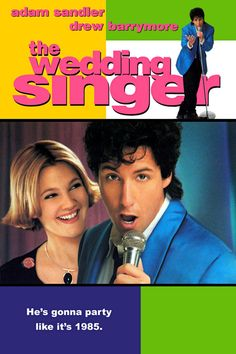 Wedding Singer - great use of the 80's. http://www.whatisthatsong.net/movies/Older%20Movies/weddingsinger.html