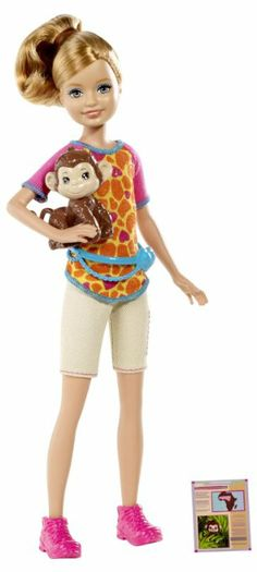 Barbie Sisters Safari Stacie Doll