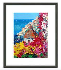 Impresiones de Positano Costa Amalfitana Italia por AgostinoVeroni