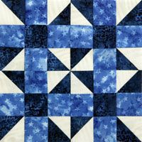 Free Block Pattern: Block 4 from Quilters Newsletter's Block of the Month Mystery Quilt 2014, Ooh-Rah