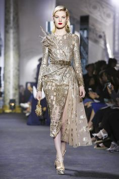 Elie Saab Haute Couture Fall/Winter 2016 Paris Collection @Maysociety