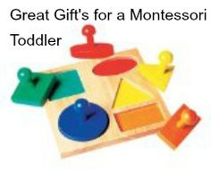 TOP Toys for a Montessori Toddler