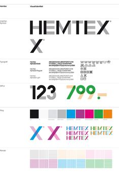 Hemtex Rebrand