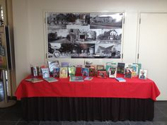 May Display Table in Northport