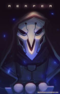ArtStation - Reaper - Overwatch, Danilo Franco
