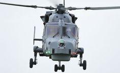 PICTURES: Royal Navy Wildcat makes flight debut